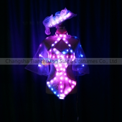 Girl Sexy dancer LED Costumes